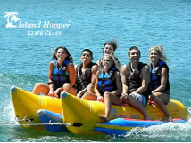 Island Hopper Commercial 6-Passenger Side-by-Side Banana Boat