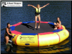 Bounce-N-Splash 13' Water Bouncer from Island Hopper