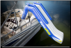 Aquaglide Freefall Pontoon & Dock Slide (SKU: 10-01857)