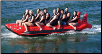 Red Shark 10-Passenger Commercial Banana Boat