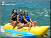 Island Hopper Recreational 3-Passenger Inline Banana Boat