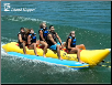 Island Hopper Recreational 5-Passenger Inline Banana Boat